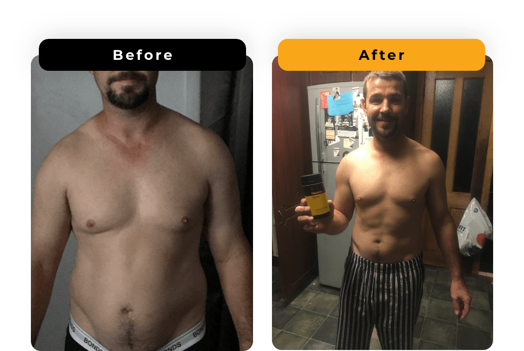 Raymond O'Brian - before and after photo